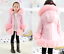 Kids-Girls-Winter-Quilted-Coat-Jacket-Puffer-Faux-Fur-Hooded-Long-Coat-New-Parka thumbnail 9