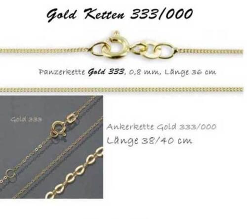 Taufkette kleiner Schutzengel in Gold 333 Gravurplatte Taufschmuck GIRL