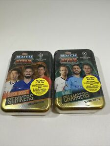 Lot-Of-2-2019-20-Topps-UEFA-Champions-League-Soccer-Match-Attax-60c-TIN-New