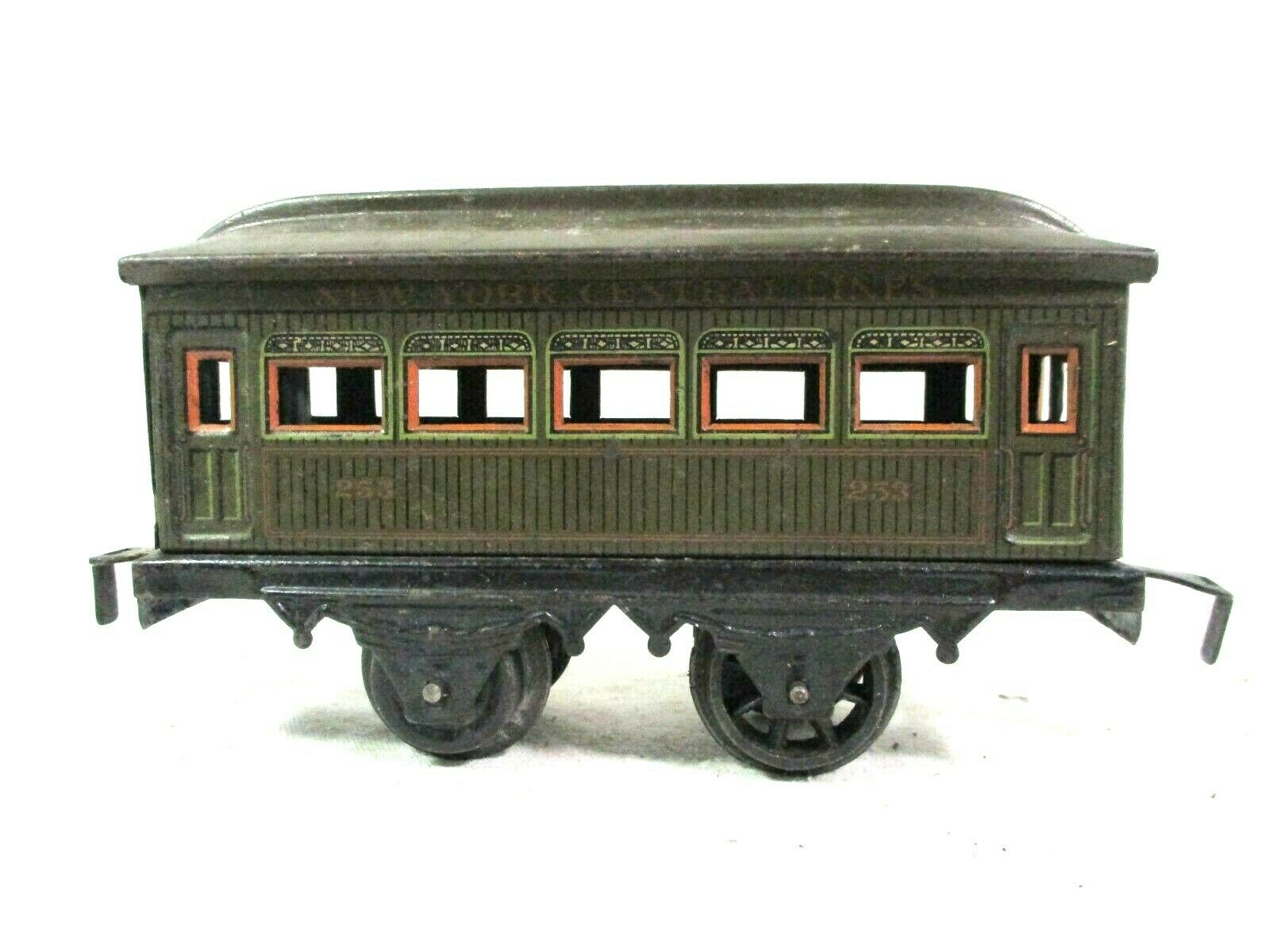 Bing New York Central NYC 253 Passenger Car O Scale Model Railway Train B66-45