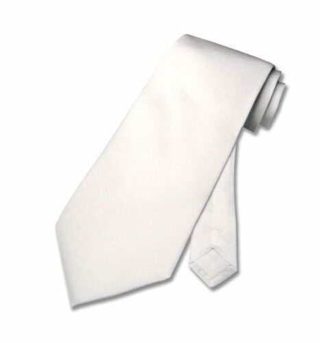 weiße Lederkrawatte Krawatte Schlips aus ECHT Leder leather tie
