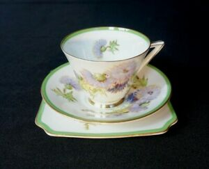 Beautiful-Royal-Doulton-Glamis-Thistle-Trio