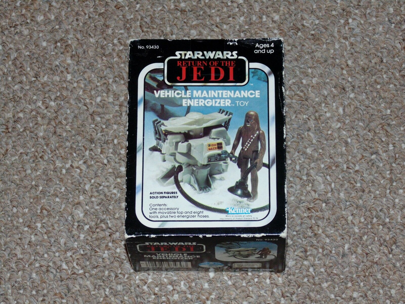 1983 Star Wars redJ Vehicle Maintenance Energizer Brand New MIB