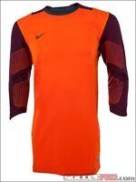 Nike Confidence Men's Soccer Shirt Xl Extra Large 3/4 Sleeve Goalkeeper Orange