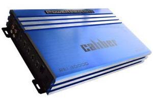 Power Acoustik RE1-3000D BLUE 3000 Watt Monoblock Car Stereo Amp Mono Amplifier
