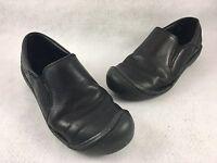 KEEN Women's US 9 EU 39.5 Slip On Mule Clogs Shoes Leather Black