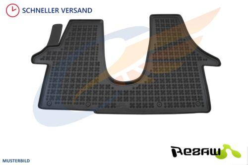 Gummi-Fußmatten Peugeot Traveller 1tlg ab 2016 Gummimatten zweite Sitzreihe
