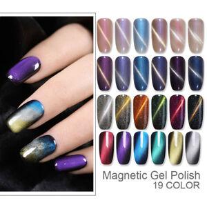 ur sugar magnetic gel nail polish shimmer nail cat eye uv
