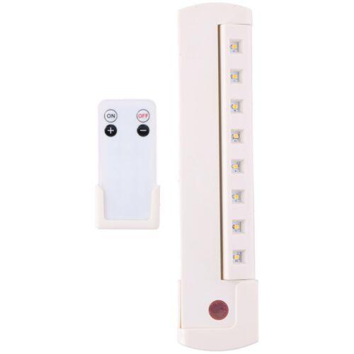 DEL Lampe de Placard lumière lampe Soubassement Télécommande à piles