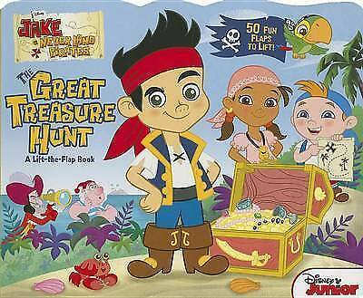 1 of 1 - Jake and the Never Land Pirates The Great Treasure Hunt: A-ExLibrary