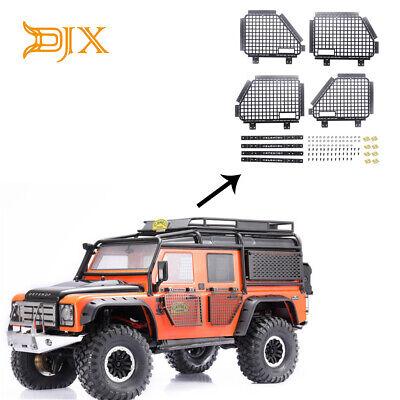 1 Set Metal Guard Door WindowFor TRAXXAS TRX4 Land Rover Defender D90 D110 RC4WD