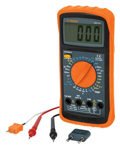 TRUPER MUT-39 Multimeter for industrial maintenance