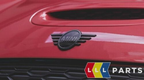 Neu Original Mini Klavier Schwarz Vorne Motorhaube Abzeichen Emblem 51142465237