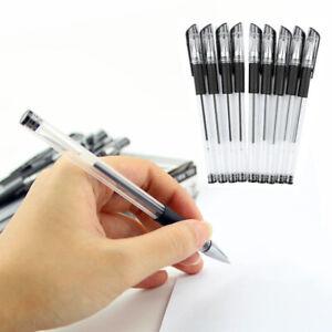 Cancelleria-Penna-Roller-Gel-Penne-Inchiostro-0-5mm-12PCS-Per-Ufficio-Nero