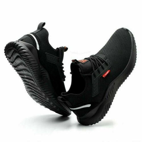 Safety Shoes Mens//Womens Trainers Lightweight Steel Toe Cap Work Boots Shoes UK