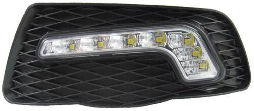 LED Tagfahrlicht TFL Set R87 für Mercedes C-Klasse W204 S204 Chrom