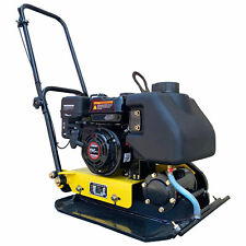 Walk Behind Vibratory Plate Compactor With Water Tank Heavy Duty Large Plate 65hp