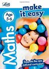 Maths Age 5-6 (Letts Make It Easy) by Letts KS1, Peter Patilla, Paul Broadbent (Paperback, 2015)