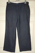 New 10-14 Herringbone Wool Bags Wide Leg Suit Work Trousers Gift