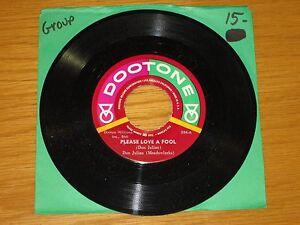 DOO-WOP-GROUP-45-RPM-DON-JULIAN-DOOTONE-394-034-PLEASE-LOVE-A-FOOL-034