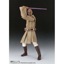 BANDAI S.H.Figuarts Star Wars Episode II Mace Windu Action Figure Japan version