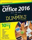 Office 2016 All-In-One For Dummies von Peter Weverka (2015, Taschenbuch)