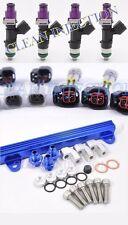 Toyota Celica MR2 ST185 3SGTE Blue ST165 1000cc Fuel Injectors Rail 1-2nd gen