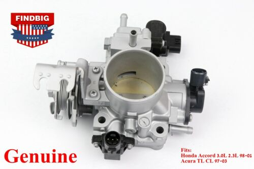 GENUINE Throttle Body with all sensors For Honda Accord Acura TL CL 1997-2003