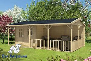 Gartenhaus Holz Mit Terrasse