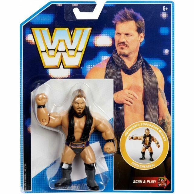 Mattel WWE Retro Series #7 Chris Jericho Action Figure 2018