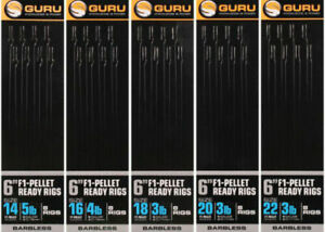 "Full Range Available Guru Super LWG Banded 6/"" Pole Ready Tied Hooklengths"