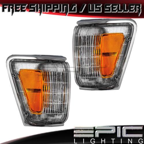 Marker Signal Lights for 1989-1991 TOYOTA PICKUP 4WD 4RUNNER Left Right Pair