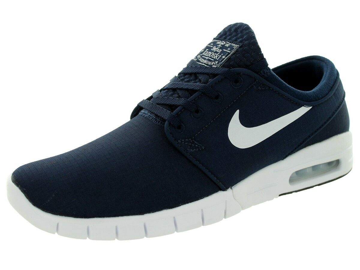 low priced a9602 77945 ... Nike STEFAN JANOSKI MAX Obsidian White White White Athletic 631303-411  (576) Men s