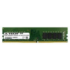 A-Tech-16-Go-2666-MHz-DDR4-Ram-Pour-DELL-XPS-8900-Ordinateur-de-bureau-mise-a-niveau-de-Memoire