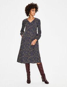 Nwt Boden Mystic Woodland Easy Midi Dress Size 14 Uk 18 Ebay