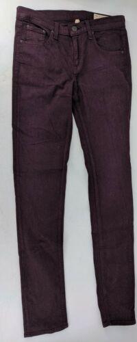 Rag and Bone Skinny Jeans Womens Size 27 Burgundy/