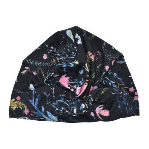 Newborn Baby Boy Unisex Cotton Sun Hat Floral Bowknot Cap Toddler Turban Prop