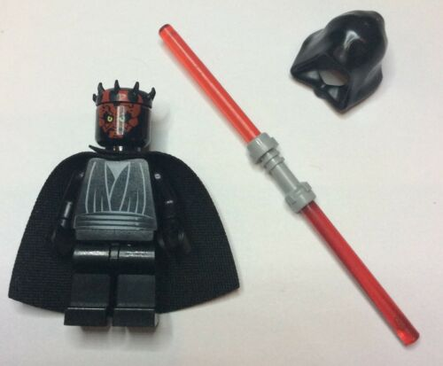 Darth Maul hood and cloak Lego Star Wars Minifigures