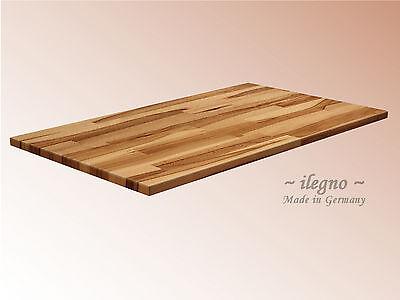 ~ Ilegno ~ Tischplatte, Massivholzplatte 27 mm, verschiedene Holzarten.......
