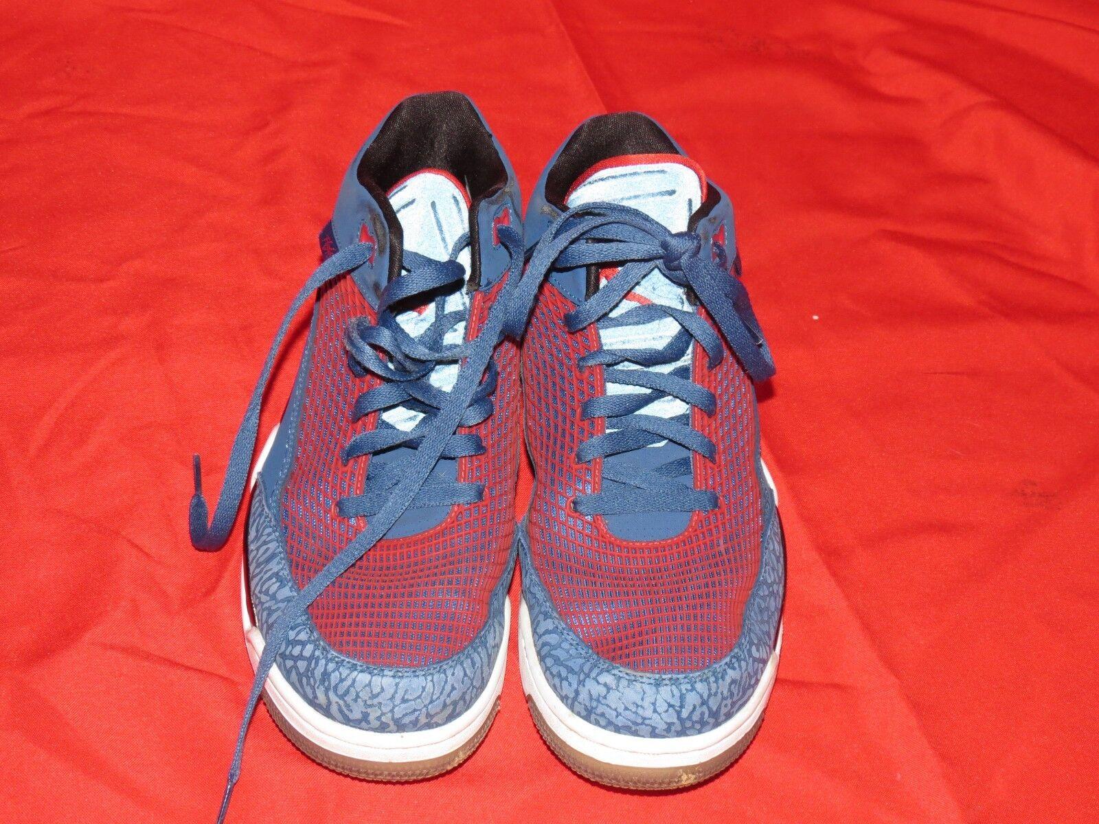 fd12f63d479 Nike 80 Air Jordan Flight Club 80 Nike Mens Basketball Shoes 599583-401  Blue Red