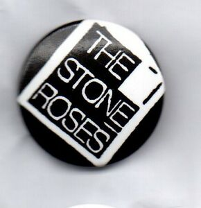 THE-STONE-ROSES-BUTTON-BADGE-ENGLISH-INDIE-ROCK-BAND-IAN-BROWN-25MM-PIN