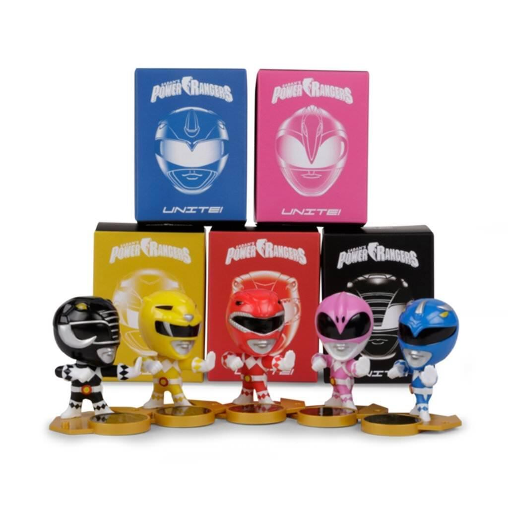 Loot Crate Power Rangers S'Unir. Série complète de 5