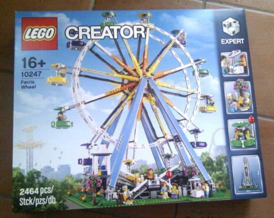 RUOTA PANORAMICA LEGO 10247 Ferris Wheel MISB SIGILLATA Creator CORRIERE GRATIS!