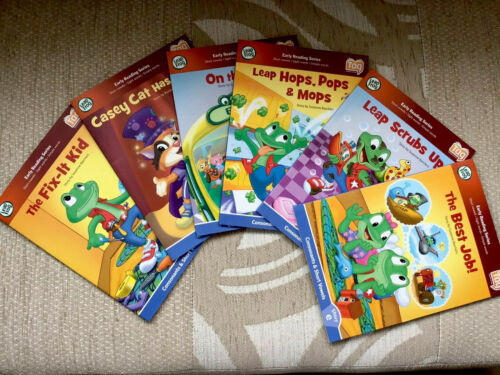 Box Set 1// 6 Books//Ex Con// VOULS// No Box Leapfrog Leapreader//Tag//Early Learning