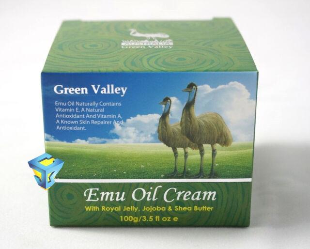 GREEN VALLEY EMU OIL CREAM WITH ROYAL JELLY JOJOBA SHEA BUTTER 100g
