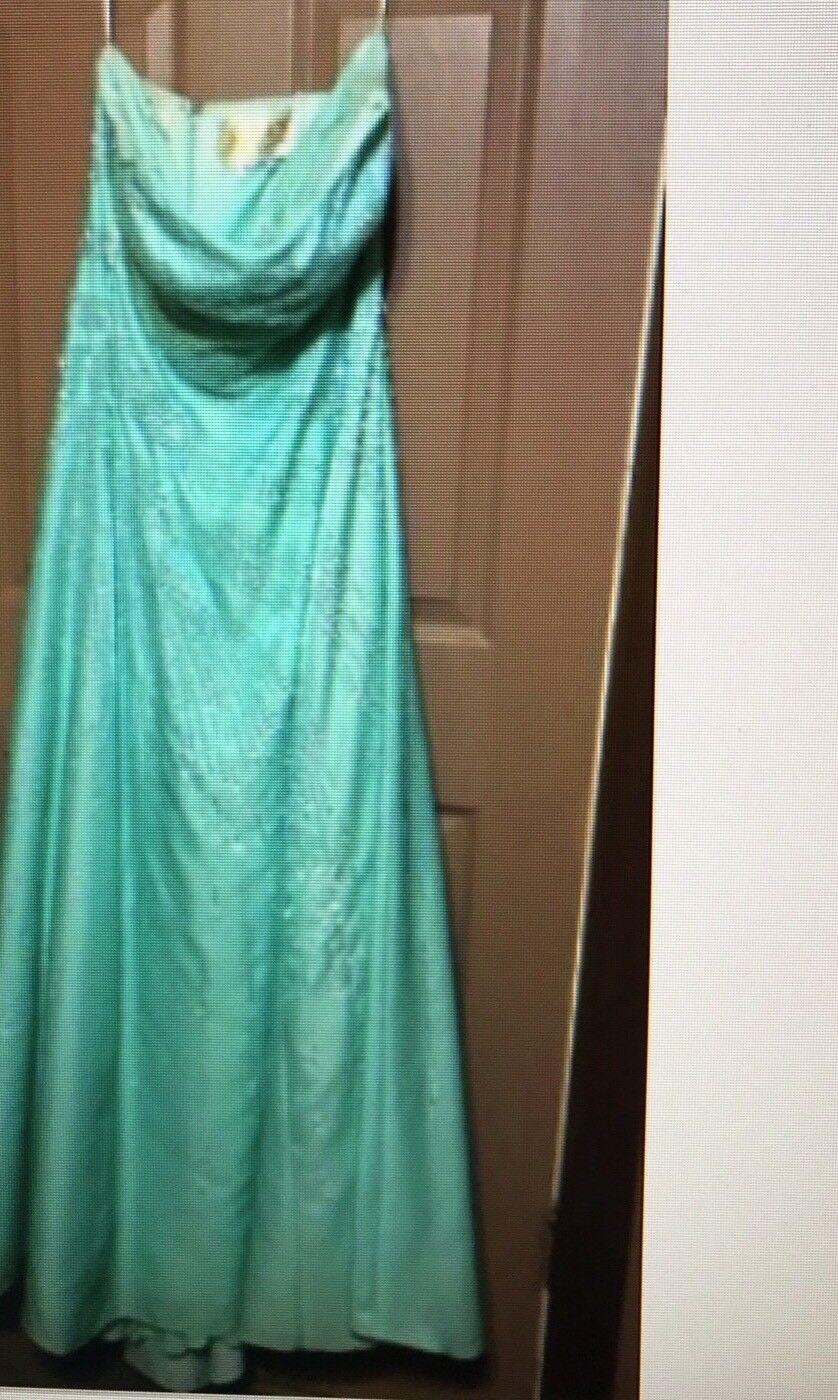 My Fashion Company Woman Size 14 Formal Long Dress  Mint