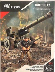 Mega Construx Call Of Duty Anti-Tank Gun Building Set FMG08 NEW Sealed!