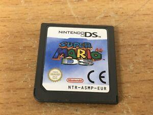 Super Mario 64 DS (Nintendo DS, 2005) - versión europea, tarjeta de juego solamente