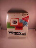 Microsoft Windows 2000 Professional Upgrade Edition Retail Box Sealed