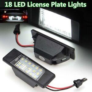 2x-Led-Number-License-Plate-Light-for-Nissan-Qashqai-X-trail-Juke-Patnfinder